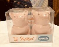 Lil' Shakies Piggies Porcelain Salt & Pepper Shakers-New In Box! Great  Stuffers