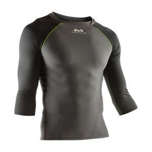 McDavid 3/4 Sleeve Recovery Max Shirt (Charcoal/Black/Bright Yellow - Largel)