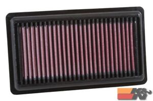 K&N Replacement Air Filter For FIAT 500 L2-0.9L F/I 2012 33-3046