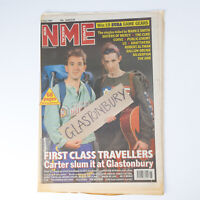NME magazine 27 June 1992 CARTER cover The Levellers Billy Bragg Moonflowers
