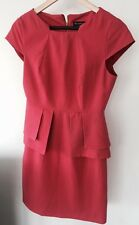 Miss Selfridge Pink / Red  Color Pencil Dress, Size 10