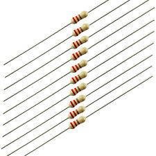 1/4 Watt Carbon Film Resistors, 220 ohm, 10 pieces