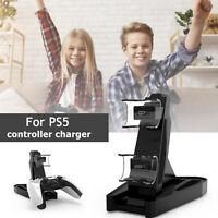 Controller Manette de jeu Chargeur Dual Charging Dock Stand Station pour PS5