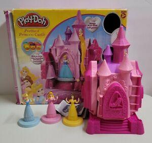Play-Doh Disney Princess Prettiest Princess Castle Set Complete Fast Shipping!!!