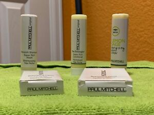 10-Piece Paul Mitchell Travel Size Shampoo Conditioner Lotion Bath & Facial Bar