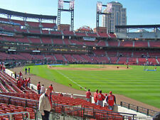 2 CARDINALS vs. Cubs 09/12/2020 Sat. Lower Right Field Box 131 Row 2