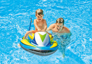 """INTEX Ride-On WAVE RIDER  46"""" X 30.5"""" WAVE RUNNER ~ INFLATABLE POOL FLOAT AGE 3+"""