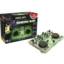 HERCULES DJ CONTROL GLOW GREEN controller entry level per live dj color green