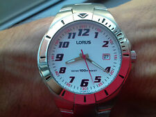Lorus Seiko Vintage Collection Diver RG843BX-9 Acier Montre NOS Rare Horloge