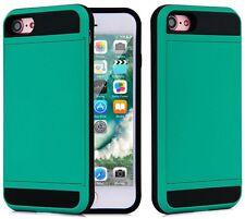 Slide Wallet Case iPhone Samsung Android Credit Card Hidden Pocket Slot ID Cash
