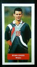 WALES - MANCHESTER UNITED - RYAN GIGGS - Score UK football trade card