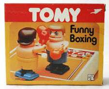VERY RARE VINTAGE 80'S TOMY FUNNY BOXING GAME TAIWAN NEW WIND UP NEEDS REPAIR
