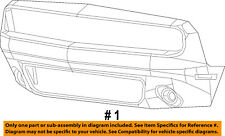 Dodge CHRYSLER OEM 15-18 Challenger-Bumper Cover 68258731AC