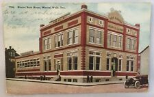 c1910s Postcard Bimini Bath House Mineral Wells Texas TX Color PC