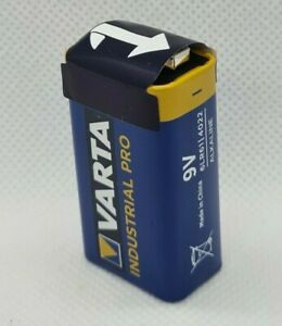 5 oder 10 Varta E-Block Industrial Pro  Enddatum 2025  Einweg Batterien 4022 9V