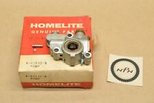 NOS OEM Homelite Super EZ XL-Mini Chain Saw Oil Pump A-65212-B