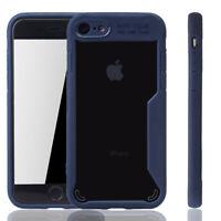 Apple IPhone 7 Hülle Case Handy Cover Schutz Tasche Schutzhülle Bumper Etui Blau