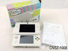 Japanese Nintendo New 3DS Console White System Japan Import v11.0.0 US Seller