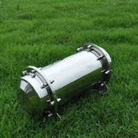 7.88'' Stainless Steel Time Capsule Waterproof Seal Container Storage Future