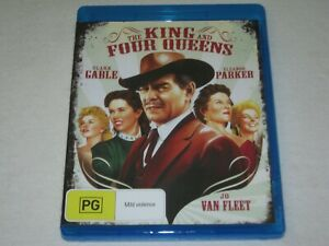 The King And Four Queens - Brand New & Sealed - Region B - Blu Ray