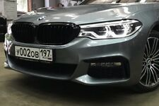 520 530 540 G30 NEW GENUINE BMW OEM M PERFORMANCE ACCESSORY BLACK KIDNEY GRILLE