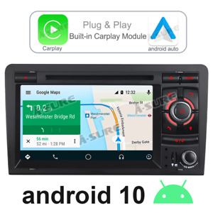 Carplay&Android auto DVD radio GPS navigation for Audi A3 S3 RS3 RNSE-PU BOSE+