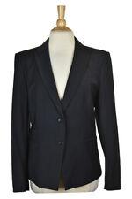 Ann Taylor Women Coats & Jackets Blazers 14 Black Wool