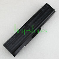 6Cell Battery PA3817U-1BRS for Toshiba Satellite A665 C640 C655 PA3818U-1BRS