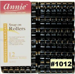 Annie Snap on Rollers Professional Hair Care #1012 12 Medium