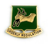 🌟US Army, 720th Military Police Battalion MP, Crest DUI Orderly Regulation Pin