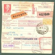 Storia postale. REGNO D'ITALIA. LUBIANA (Slovenia). Bollettino di sped. del 1943