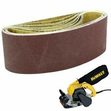 10 Sanding Belts 100mm x 560mm 60G. For Dewalt DEW650 Sanders