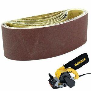 10 Sanding Belts 100mm x 560mm 60G. For Dewalt DEW650 Sanders
