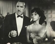 "ISABEL SARLI & EDMUNDO RIVERO in ""La Diosa Impura"" Original Vintage Photo 1963"