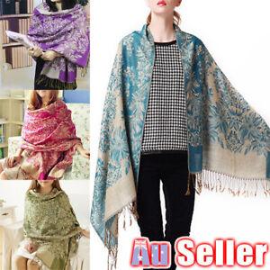 Lady Stole Winter Shawl Women Long Warm Cashmere Scarf Large Wrap Pashmina