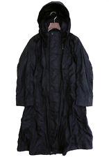 Rare ISSEY MIYAKE Polyurethane Coated Coat Puckering Rain Black Hooded Japan