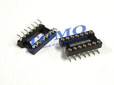 Zoccolo DIP14 tornito SMD 14 pin code GOLD-14P-SMD
