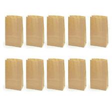 10pcs Kraft Paper Bags Wedding Party Favor Treat Candy Buffet Bag Food Bags
