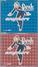 Sarah Cracknell (Saint Etienne) - Anymore - Scarce 1996 UK 8trk 2CD single set