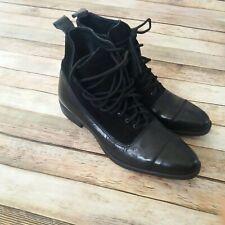 Lavorazione Artigiana Women Leather Boots Size 9 Narrow Tip Excellent  Condition