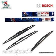 Bosch Scheibenwischer Satz Twin Wischer vorn hinten SEAT LEON (1M1)