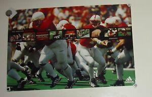 Nebraska Cornhuskers Husker Football Poster The Tradition Continues 1998 Solich
