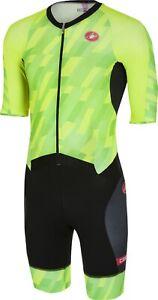 Castelli Men's All Out Speed Suit Triathlon Suit Size Large