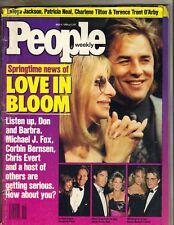 BARBRA STREISAND DON JOHNSON People Mag 5/9/88 LATOYA JACKSON CHARLENE TILTON