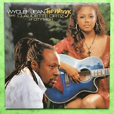 Wyclef Jean Feat. Claudette Ortiz of City High - Two Wrongs - Card - Promo CD