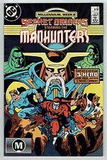 SECRET ORIGINS #22 feat. THE MANHUNTERS - MILLENNIUM Tie-In - Jan 1988 - NM