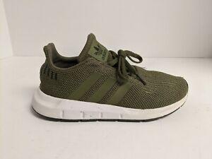 Adidas Originals Kids Swift Run Sneaker, Green, Little Kids 2.5 M
