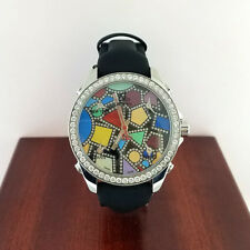 Jacob & Co 5 Time Zones Watch with Diamonds, Additional Straps, MSRP $16,600