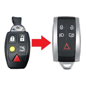 5 Button Remote Key Fob Case Upgrade for Aston Martin Vantage DB9 2004 - 2012