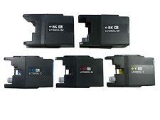 5x Original Druckerpatronen für Brother LC 1280XL MFC-J 6510DW wiederbefüllt
